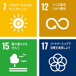 地域環境の持続可能性に貢献する