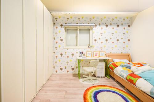 『ママ楽の家』子供部屋モデルルーム