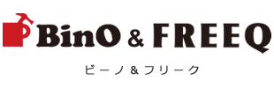 BinO&FREEQ ロゴ