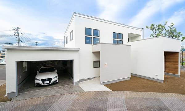 パルコタウン ママ楽の家 simple styleモデルハウス